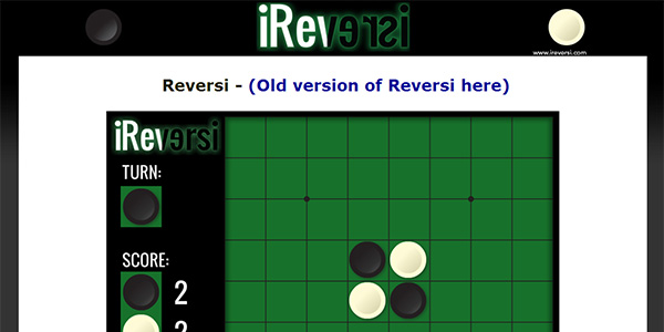 Reversi Screen Shot