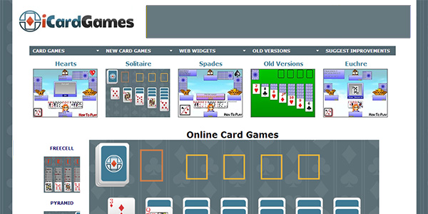 Card Games Screen Shot